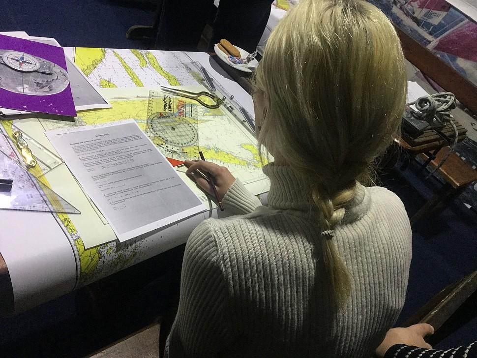 Учебный семинар по картографии в яхтенной школе IYT Парусной Академии (Киев)